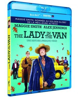 The Lady In The Van édition blu ray