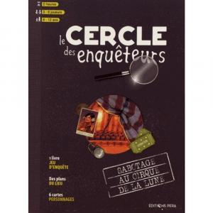 Le Cercle des enquêteurs : Sabotage au Cirque de la Lune édition simple