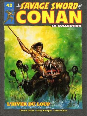 The Savage Sword of Conan 42 TPB hardcover (cartonnée)