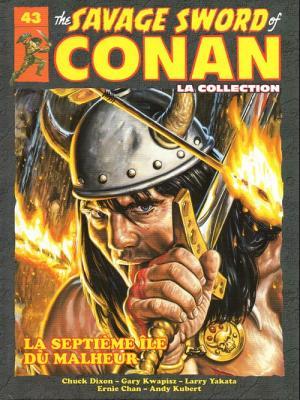 The Savage Sword of Conan 43 TPB hardcover (cartonnée)