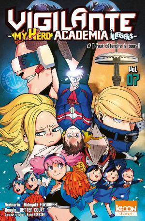 couverture, jaquette Vigilante - My Hero Academia illegals 7  (Ki-oon)