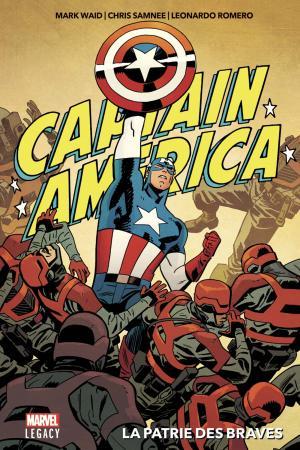 Marvel Legacy - Captain America - La Patrie des Braves  TPB hardcover (cartonnée)