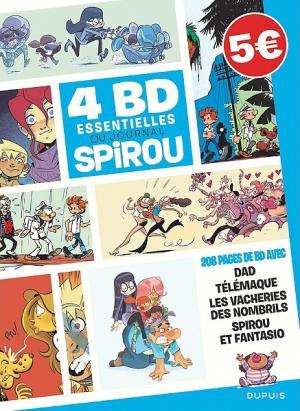 4 BD essentielles du Journal SPIROU  Recueil