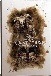 The Art of Juapi - Coffee Drawings  Cartonnée