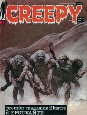 Creepy édition Kiosque (1969 - 1976) (Publicness)