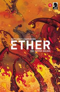 Ether - Copper golems # 3 Issues