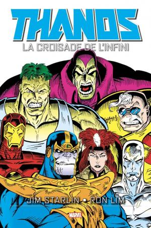 La Croisade de l'Infini  TPB Hardcover - Marvel Graphic Novels