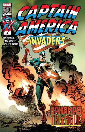 Captain America And The Invaders - Bahamas Triangle  Issue (2019)