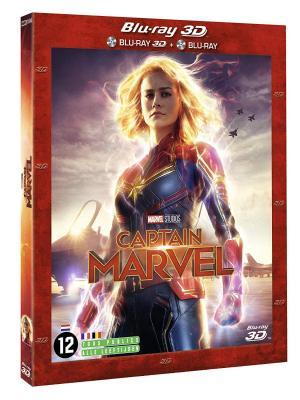 Captain Marvel édition combo