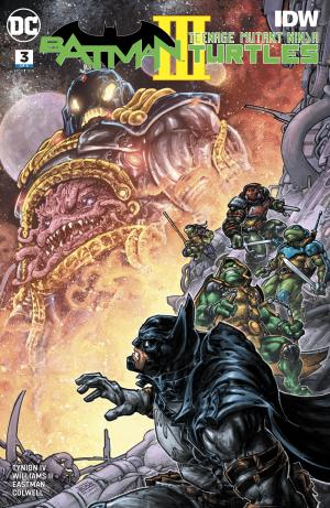 Batman / Teenage Mutant Ninja Turtles III # 3 Issues