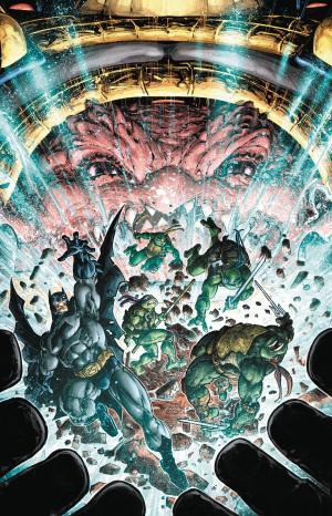 Batman / Teenage Mutant Ninja Turtles III # 5 Issues