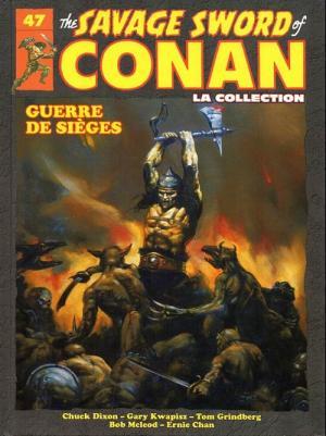 The Savage Sword of Conan 47 TPB hardcover (cartonnée)