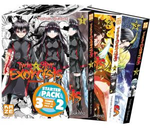 Twin star exorcists – Les Onmyôji Suprêmes édition Starter pack