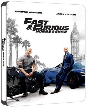 Fast & Furious : Hobbs & Shaw édition Steelbook
