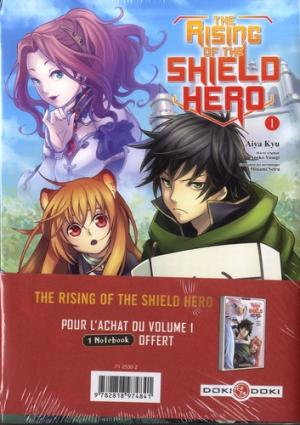 The Rising of the Shield Hero édition Carnet