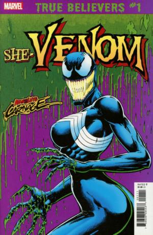 True believers - Absolute Carnage - She-Venom  Issues