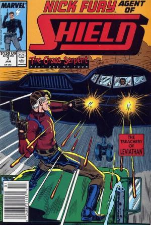 Nick Fury # 7 Issues V3 (1989-1993)