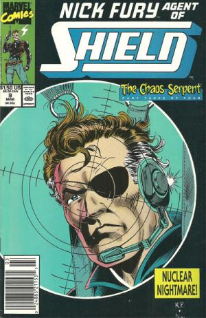 Nick Fury # 9 Issues V3 (1989-1993)