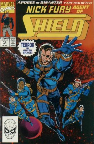 Nick Fury # 16 Issues V3 (1989-1993)