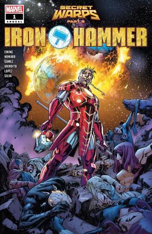 Secret Warps - Iron Hammer  Issue - Annual (2019)