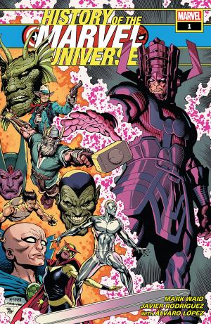 L'histoire de l'univers Marvel édition Issues (2019)