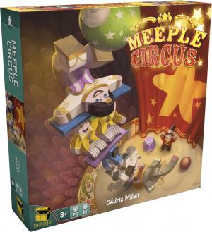 Meeple Circus édition simple