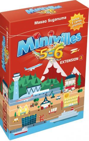 Minivilles : Extension 5/6 joueurs édition simple