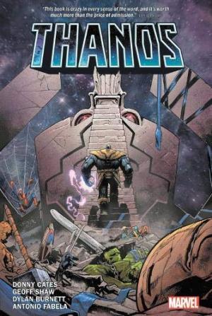 Thanos # 1 TPB Hardcover (cartonnée)