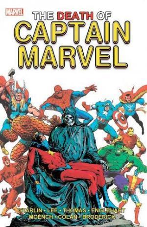 La mort de Captain Marvel édition TPB softcover (souple)