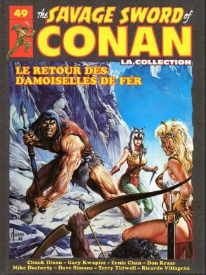 The Savage Sword of Conan 49 TPB hardcover (cartonnée)