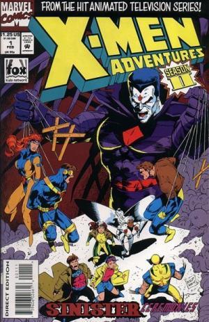 X-Men Adventures édition Issues V2 (1994 - 1995)