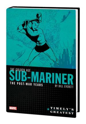 Timely's Greatest - The Golden Age Sub-Mariner by Bill Everett - The Post-War Years 1 - Cover #1