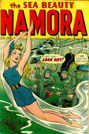 Namora # 2 Issues (1948)