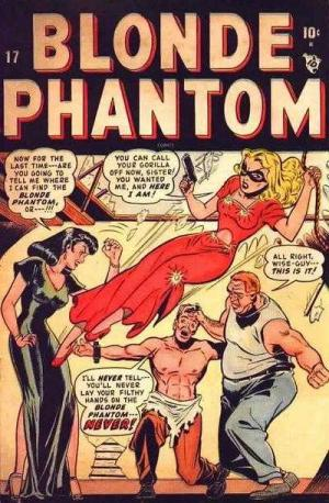 Blonde Phantom # 17 Issues (1946 - 1948)