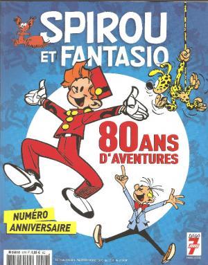 Spirou et Fantasio - 80 ans d'aventures édition simple