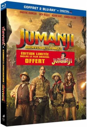 Jumanji : Bienvenue dans la jungle édition Coffret 2 films