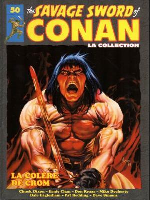The Savage Sword of Conan 50 TPB hardcover (cartonnée)