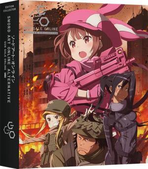 Sword Art Online: Alternative Gun Gale Online 2 Collector DVD