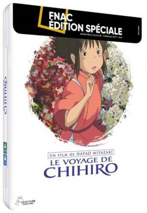 Le Voyage de Chihiro édition Steelbook