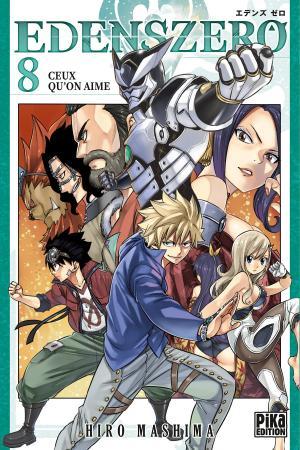 couverture, jaquette Edens Zero 8  (Pika) Manga