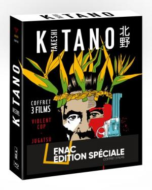 Takeshi Kitano - Coffret 3 films  Spéciale FNAC