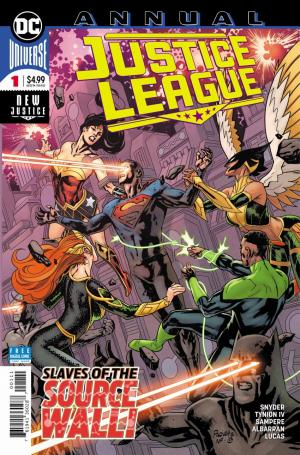 Justice League édition Issues V4 - Annual (2019 - Ongoing)