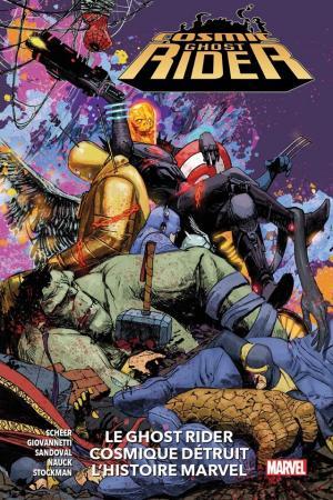 Cosmic Ghost Rider Destroys Marvel History  TPB Hardcover (Cartonnée)