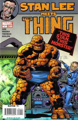 Stan Lee Meets The Thing # 1 Issues