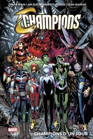 Marvel legacy - Champions 1 TPB Hardcover (cartonnée)