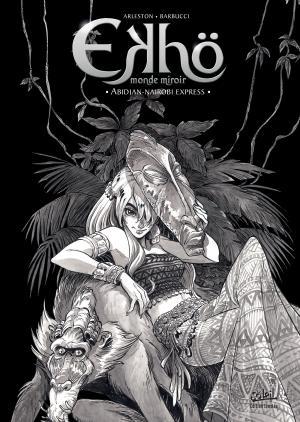 Ekhö monde miroir 9 Tirage spécial noir et blanc