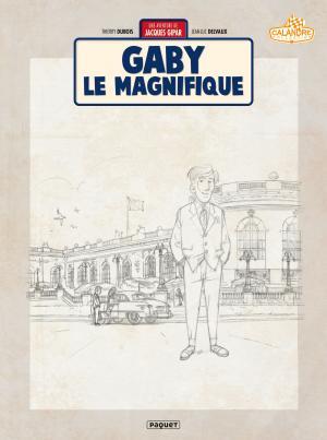 Une aventure de Jacques Gipar 7 Crayonnée N/B