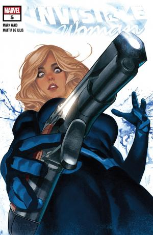 Invisible Woman 5 Issues (2019)