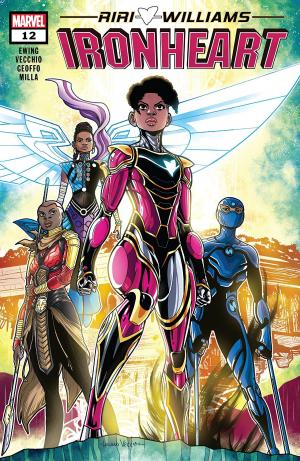 Ironheart 12 Issues (2018 - Ongoing)