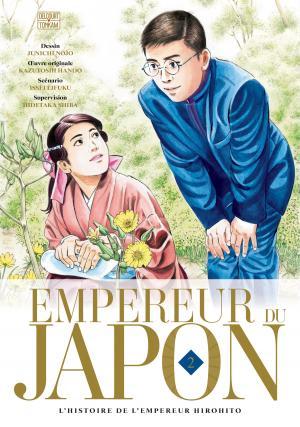 couverture, jaquette Empereur du Japon 2  (delcourt / tonkam)